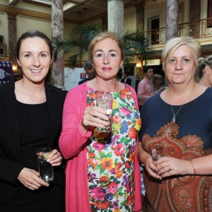 Breda Sheahan (Fitzgerald & Co. Solicitors) Deborah Maguire (Blarney Branding) and Tina Coy (Euro Executive Recruitment) at the Cork Business Association afterhours briefing on developments in Cork at AIB South Mall, Cork. Photo Billy macGill