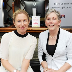 Speakers Sarah McKeown (Commercial Executive Port of Cork) and Ann Doherty (CE Cork City Council) at the Cork Business Association afterhours briefing on developments in Cork at AIB South Mall, Cork. Photo Billy macGill