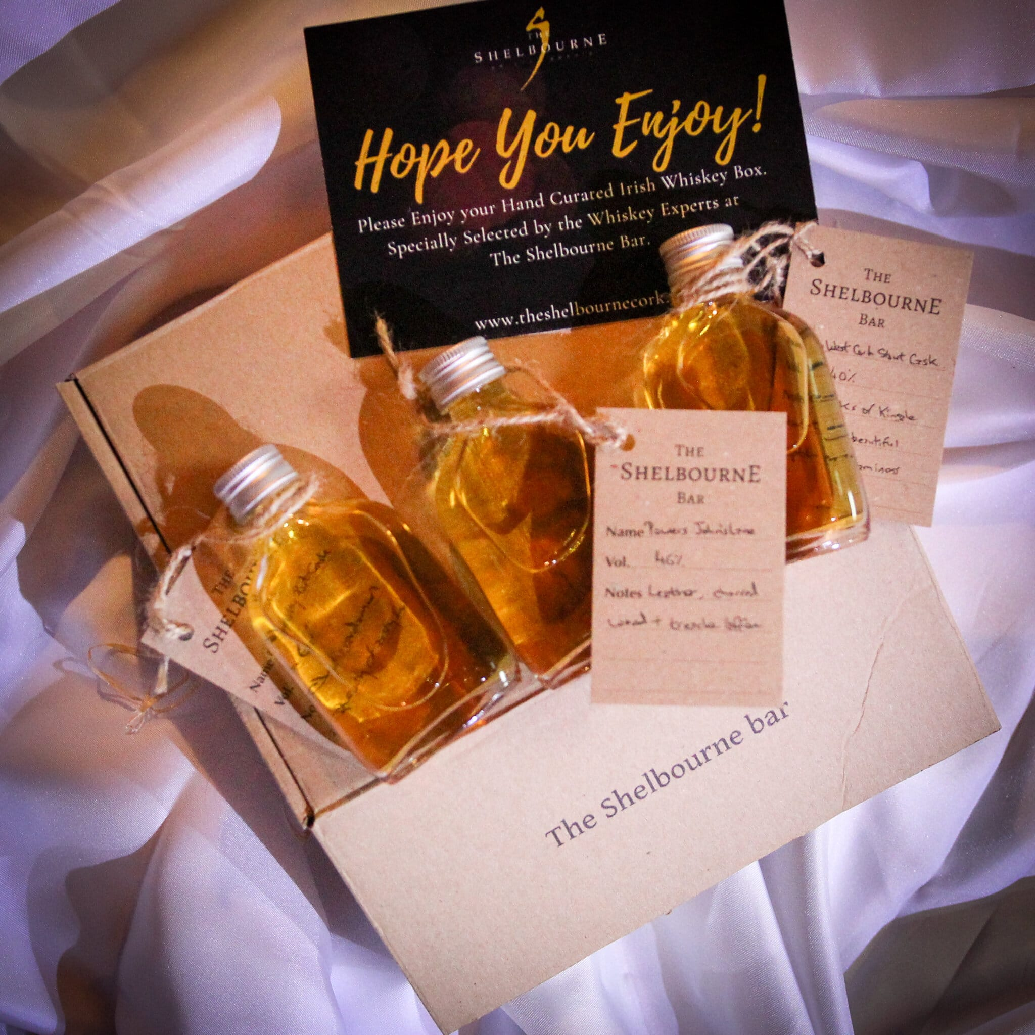 Order Whiskey Gift Boxes from the Shelbourne