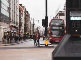 Street scape London via Unsplash