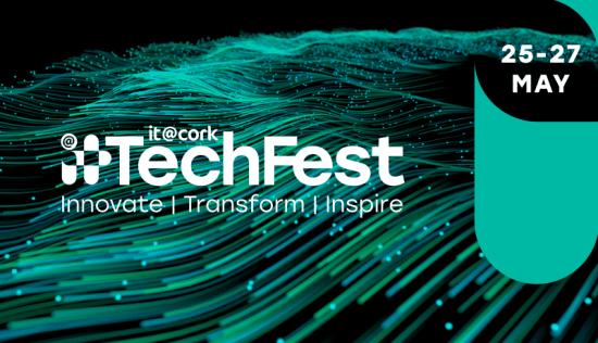 Advert for IT@Cork Tech Fest
