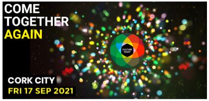 Cork Culture Night 2021 Logo