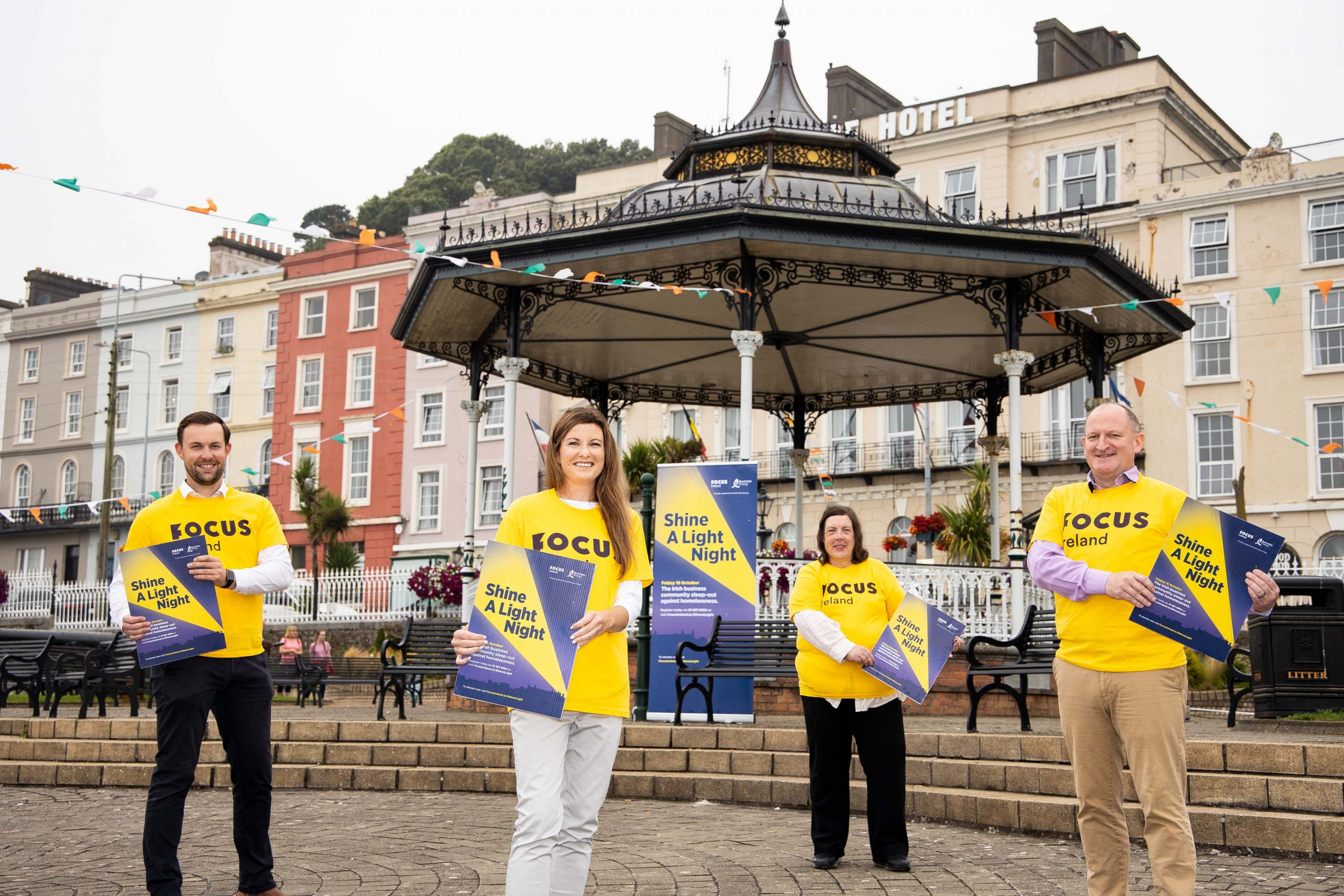 Businessleaders sleep out for Focus Ireland