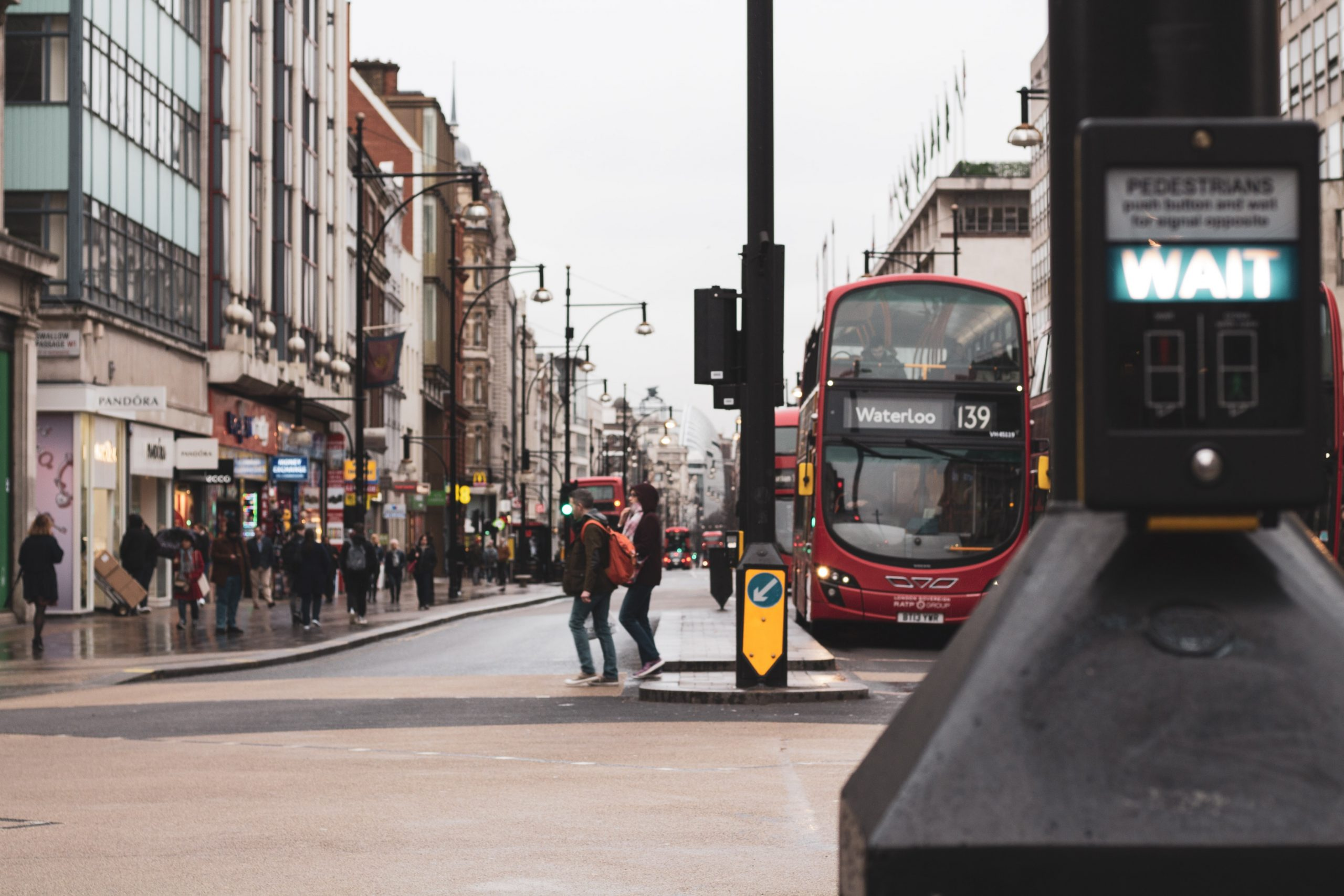 Street scape London via Unsplash