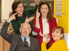 ETC Team Image with MD Niamh Murphy, Accounts Managers Maria Rolston and Clair Philips, and co-founder and tourism consultant Damian O' Mahony.